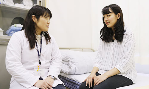 保健室・こころと体の相談室(健康管理センター)