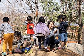幼稚園保育体験1